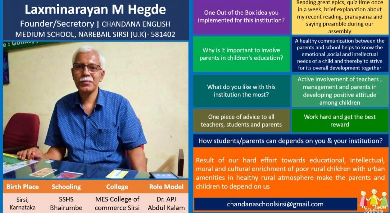 Mr. Laxminarayan M Hegde